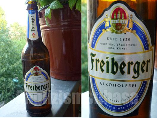 Das Bierchen Freiberger Alkoholfrei im Test