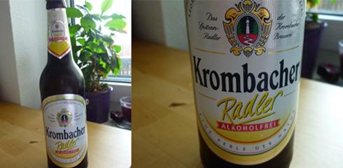 Bier Krombacher Radler Alkoholfrei
