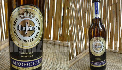 Das Bier Warsteiner Alkoholfrei im Geschmacks-Test