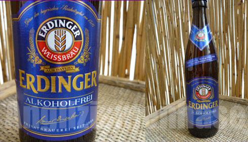 Bier Erdinger Weißbier Hefeweizen Alkoholfrei im Geschmackstest