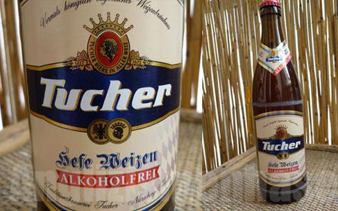 Das alkoholfreie Bier Tucher Hefeweizen Alkoholfrei im Bier-Geschmacks-Test
