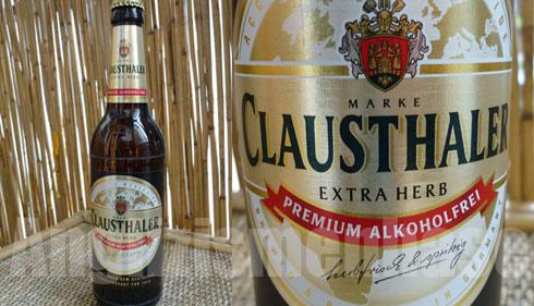 Das Bier Clausthaler Alkoholfreies Bier Extra Herb im Test