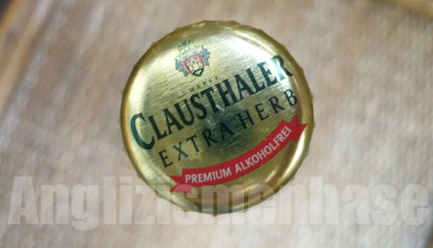 Lecker: Das Extra Herb (alkoholfreies Bier) der Marke Clausthaler