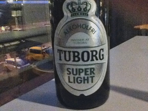 Alkoholfreies Bier im Test: Das dänische Tuborg Alkoholfrei Super Light
